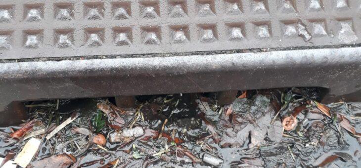 Vrij! stelt vragen over verstopte trottoirkolken